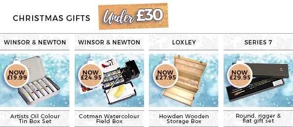 Christmas Gifts Under £30