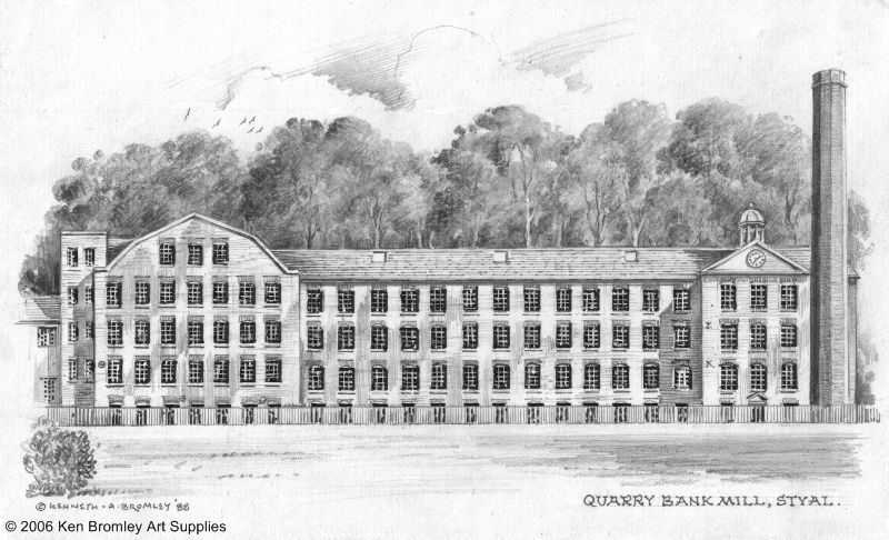 quarry bank mill presence